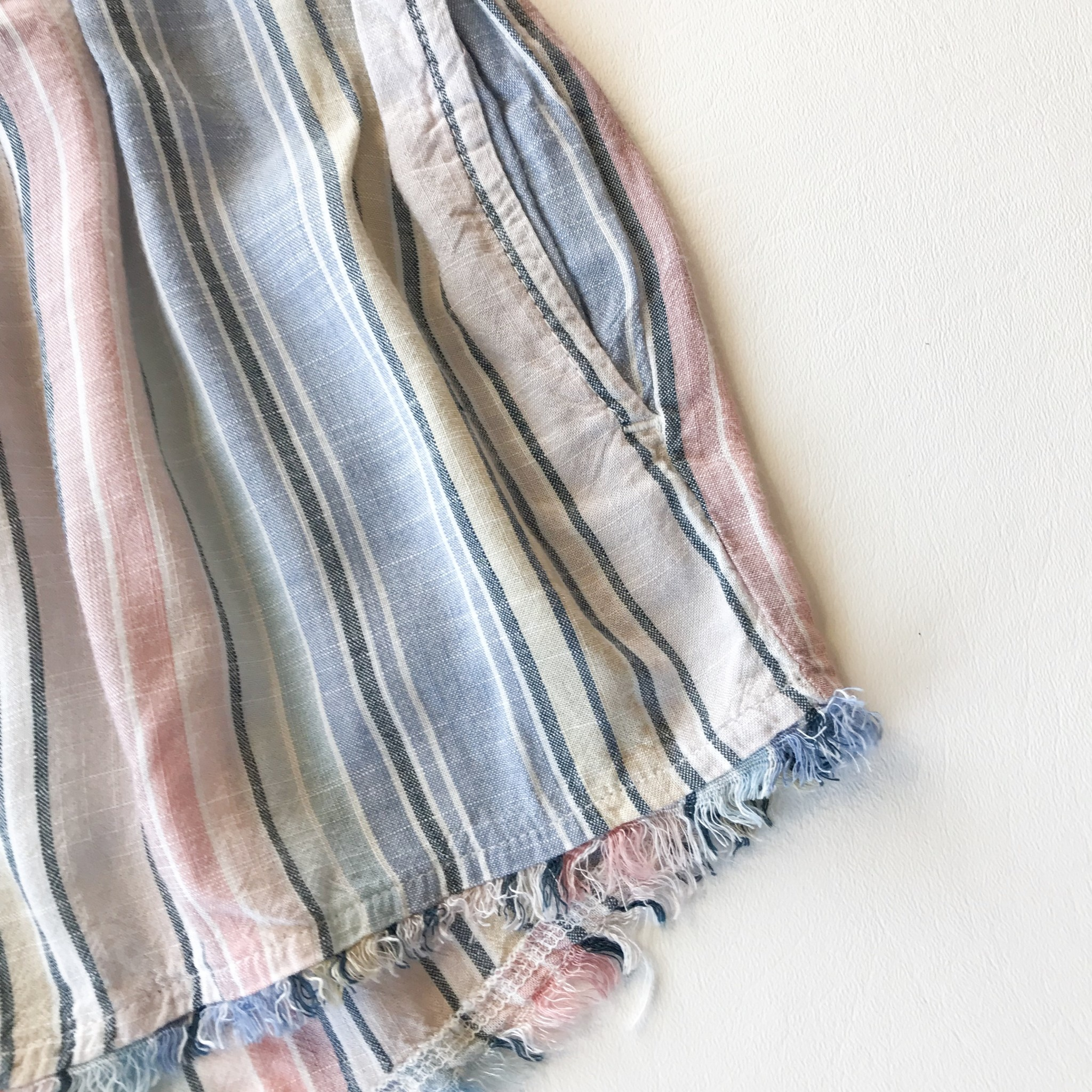 Bella Dahl ombre horizon stripe short