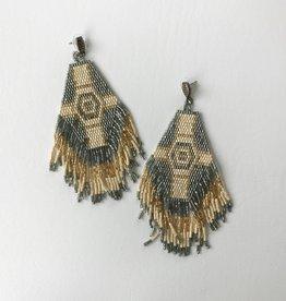 phoenix fringe earrings