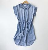 Bella Dahl capsleeve shirt dress