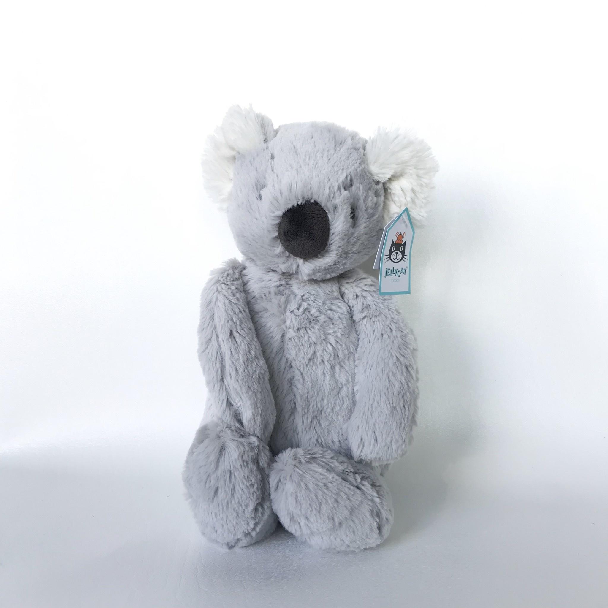 Jellycat koala medium grey