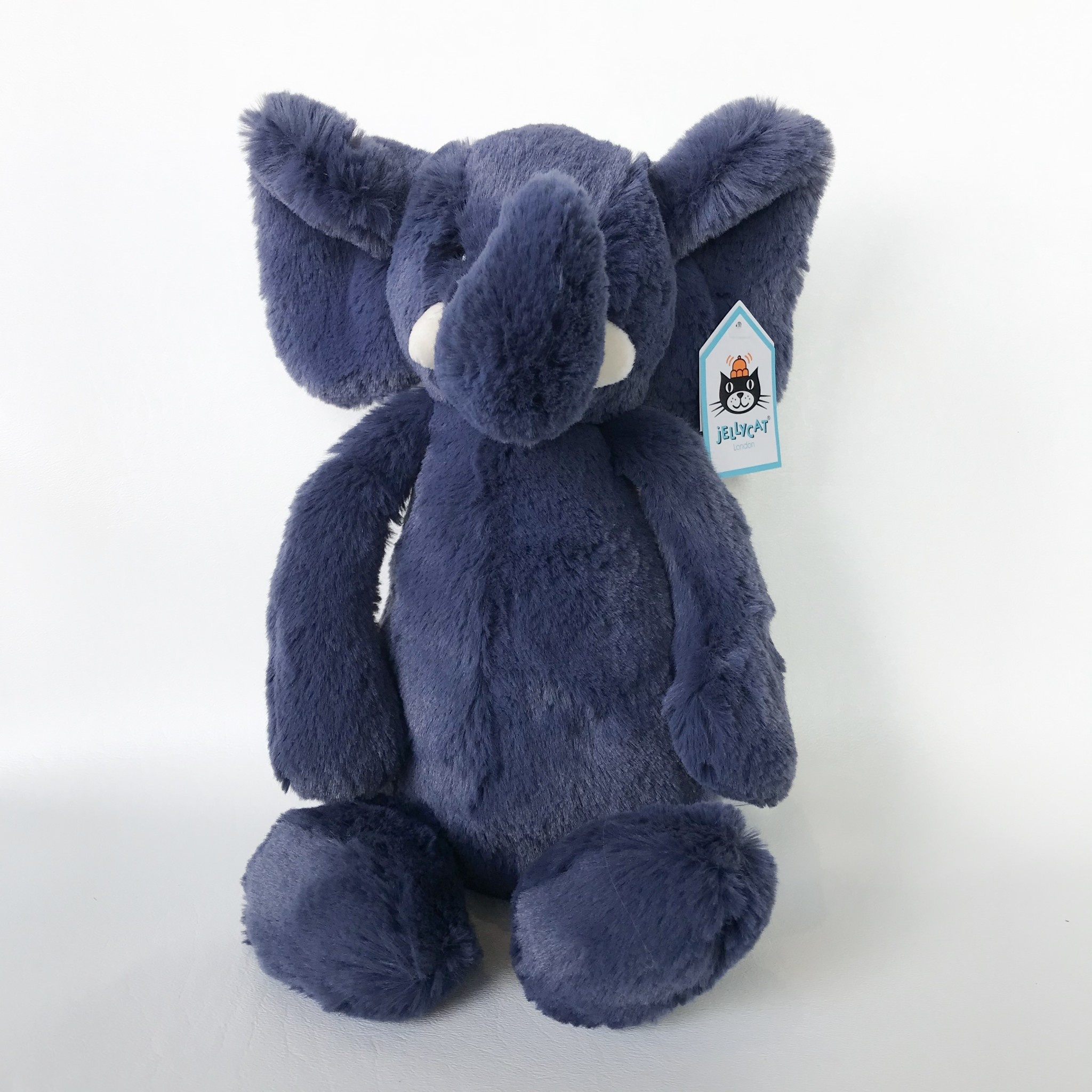 Jellycat bashful elephant medium blue