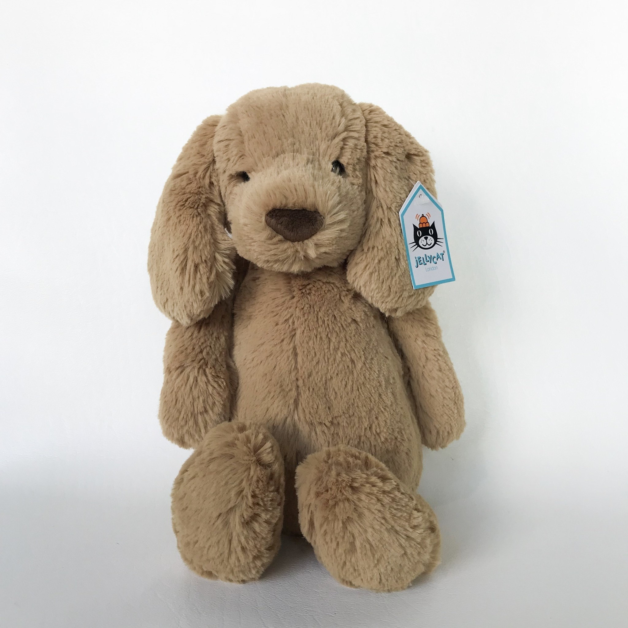 Jellycat puppy medium toffee