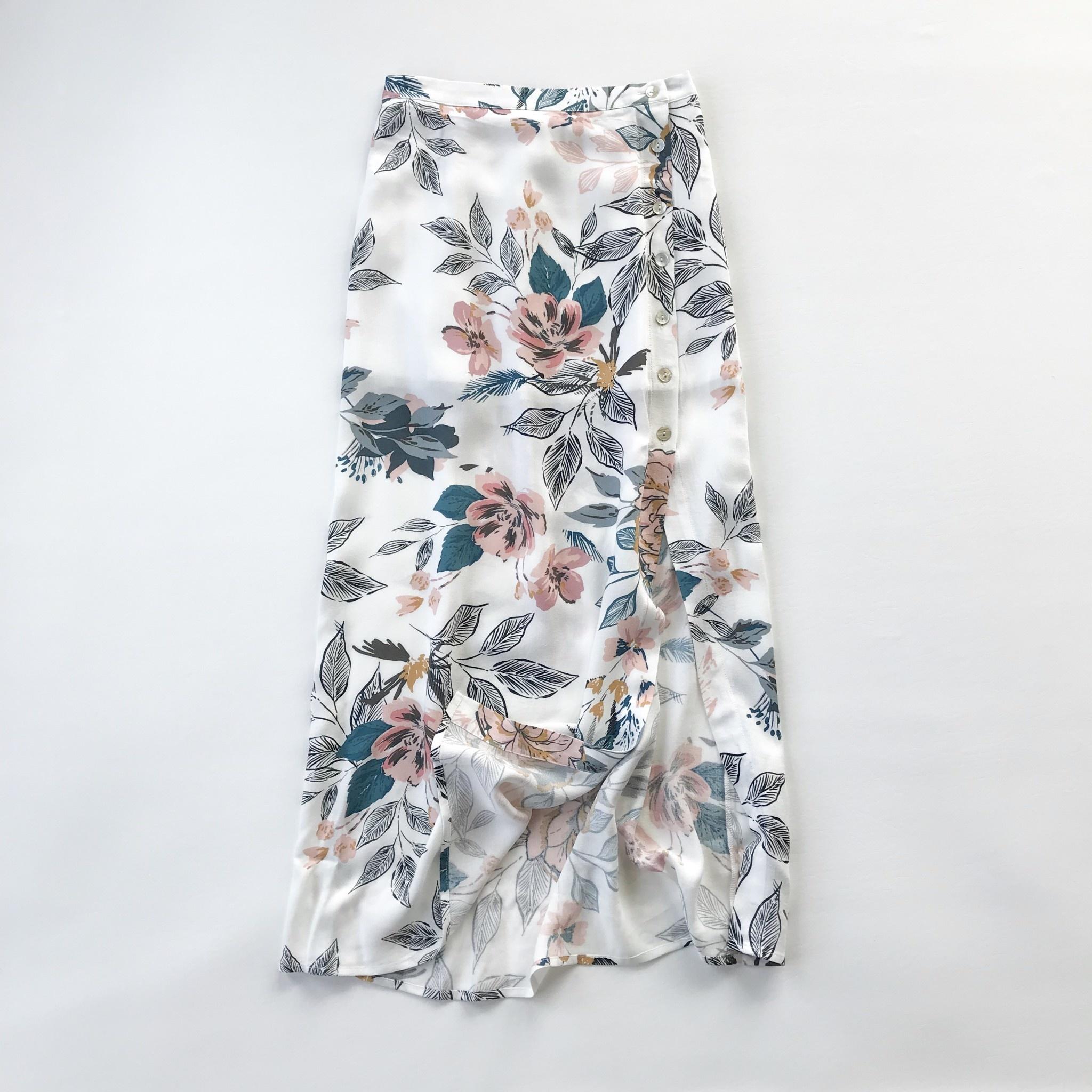 49f6e9d24b Orchid button midi skirt