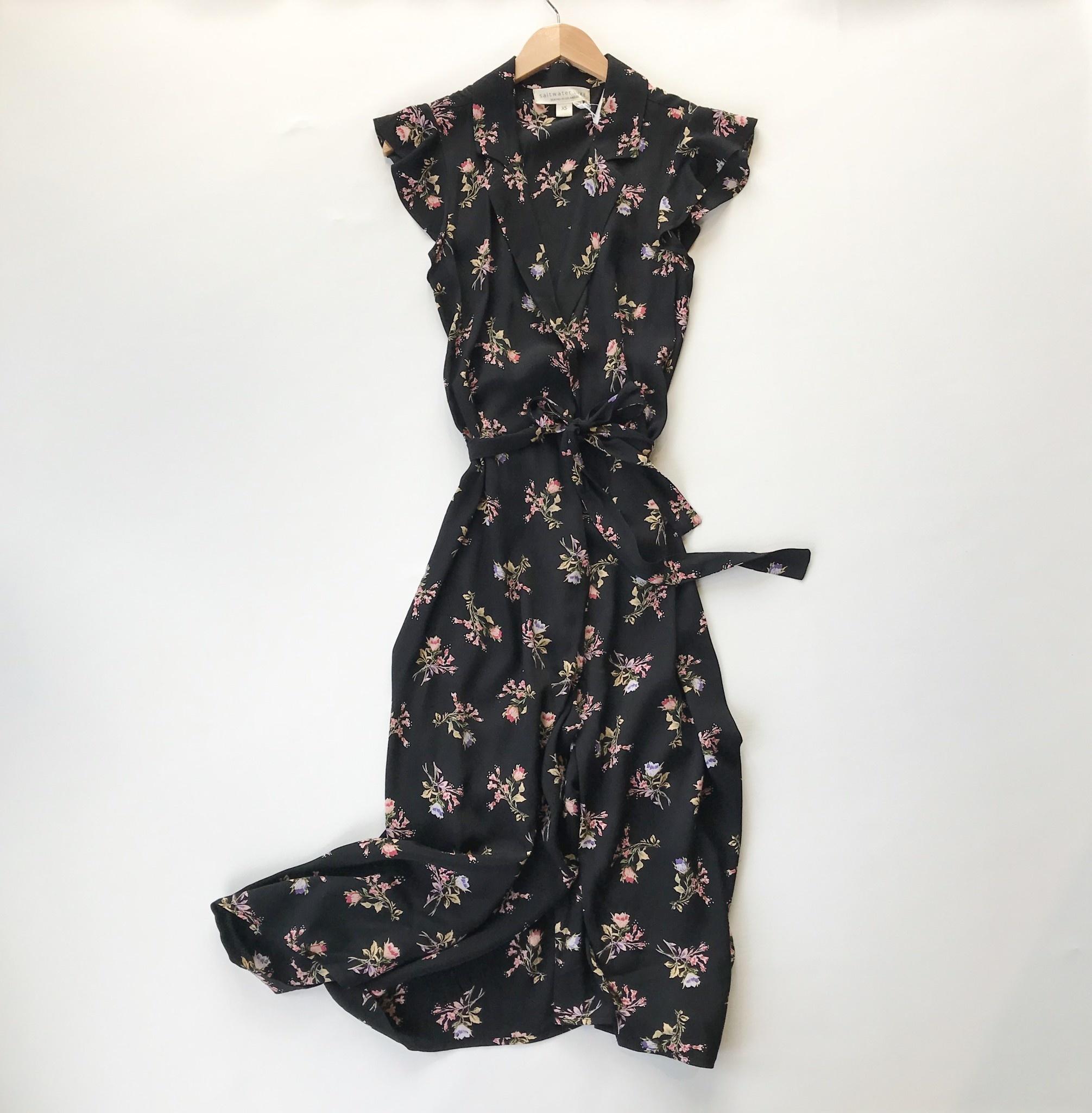 Reese wrap maxi dress