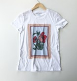 Lucky Brand poppies graphic tee
