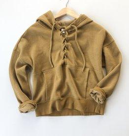 Free People believer sweat hoodie
