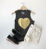 gauzy heart graphic tank