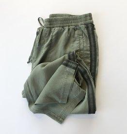 side trim high waisted pant