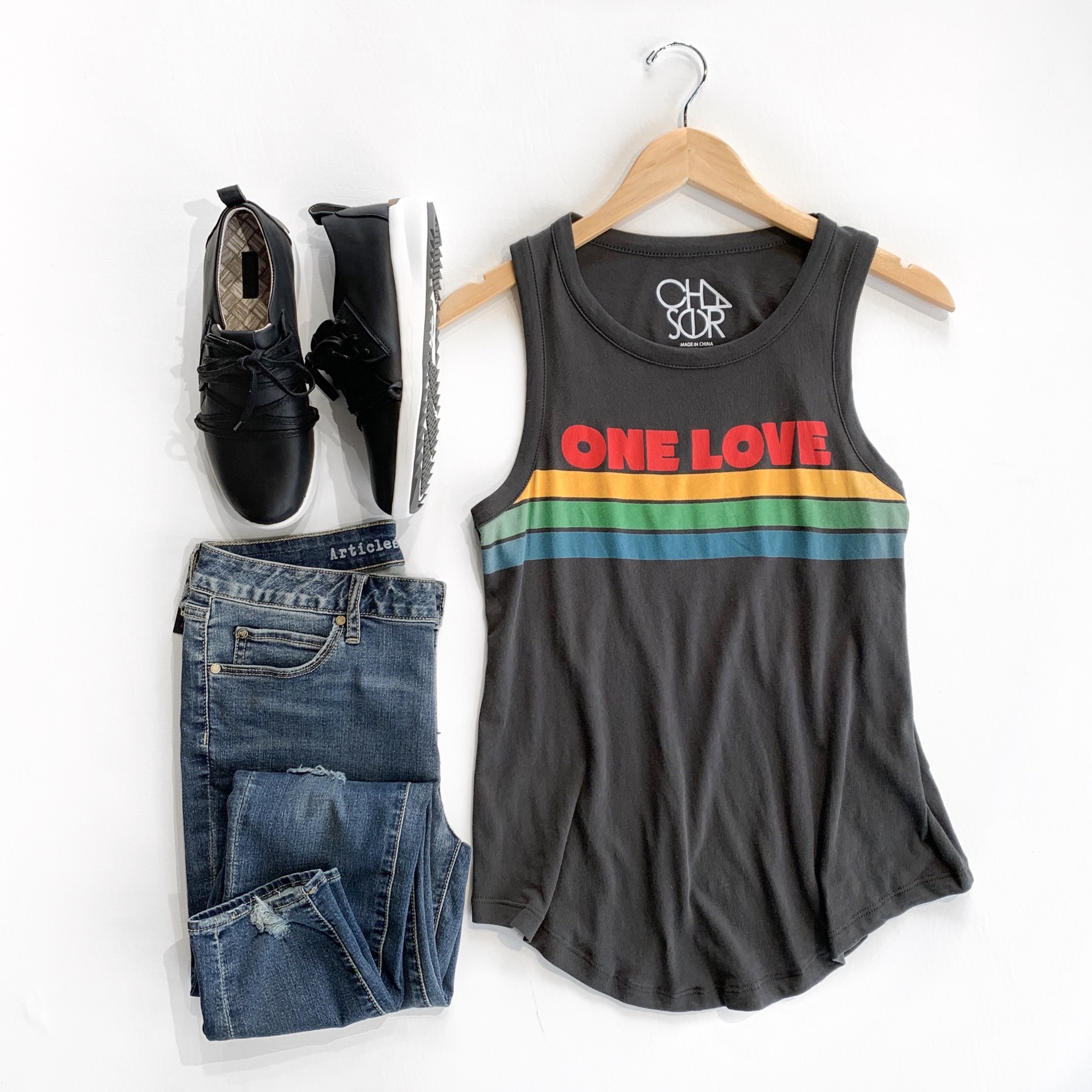 chaser cotton muscle tank