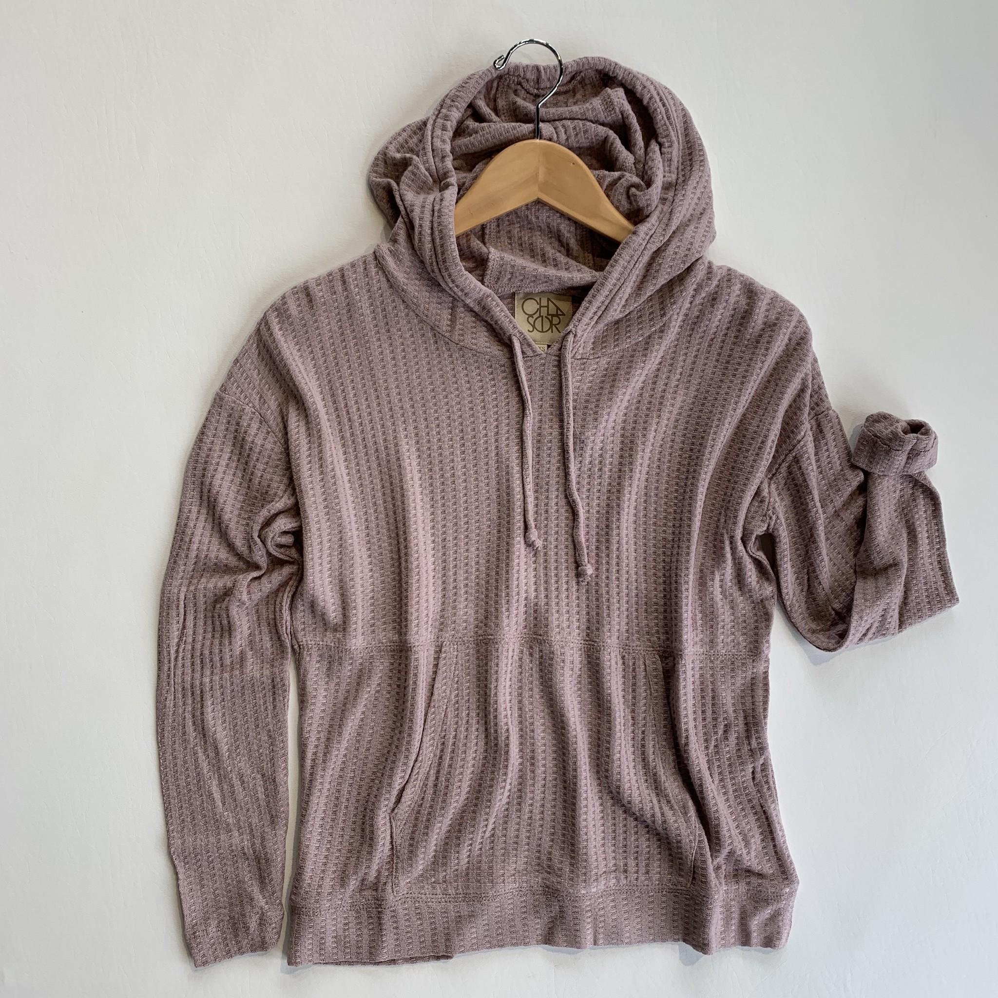 chaser thermal pullover hoodie