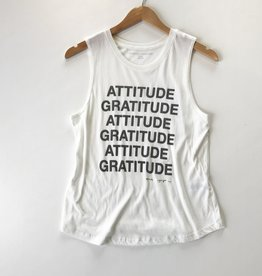 spiritual gangster Gratitude Muscle Tank