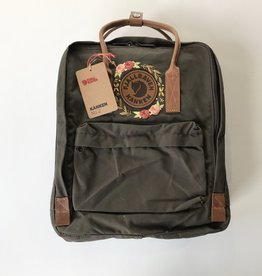 custom embroidered no. 2 dark olive kanken
