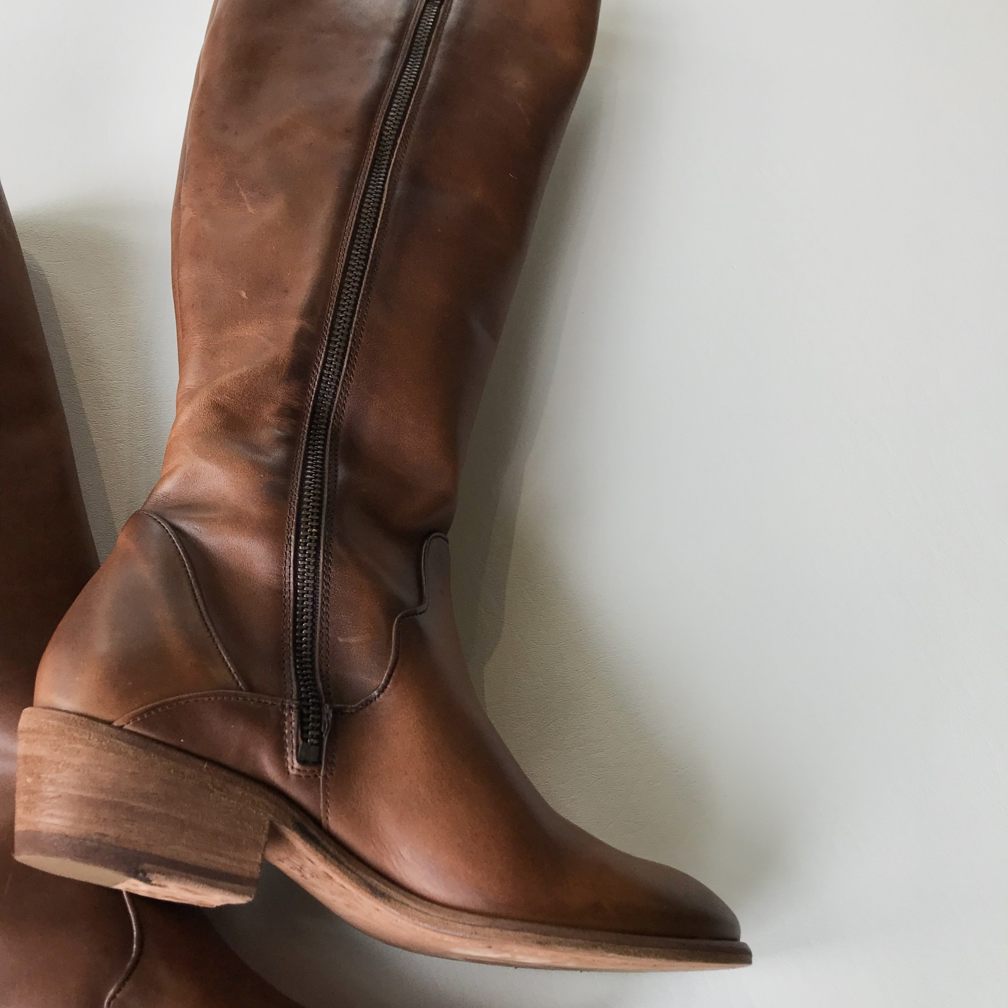 Frye carson piping tall boot