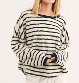 Free People breton pullover
