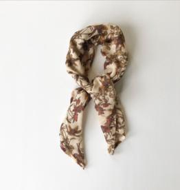 bandana floral scarf