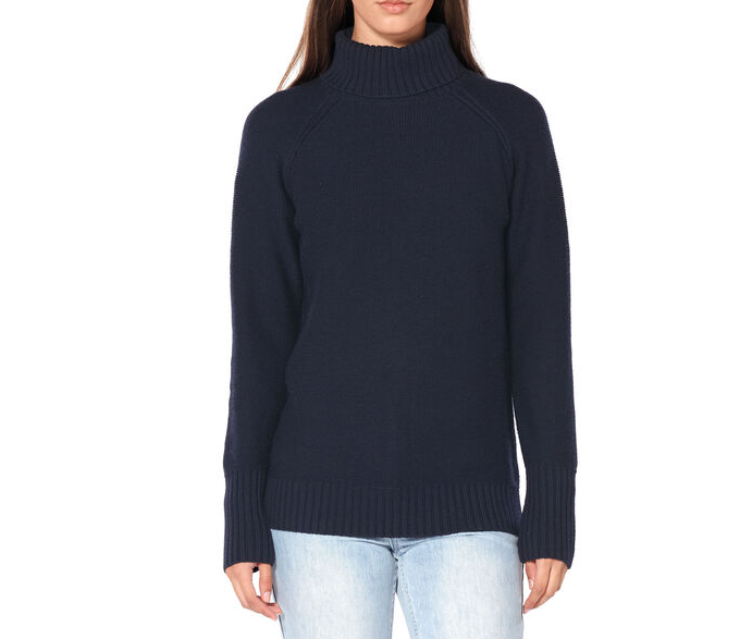 Icebreaker roll neck waypoint roll neck sweater