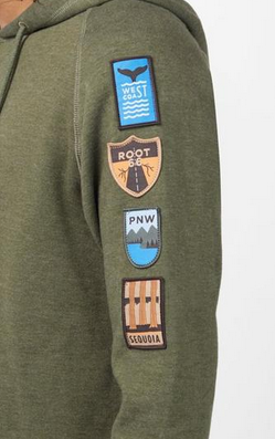 Tentree route hoodie