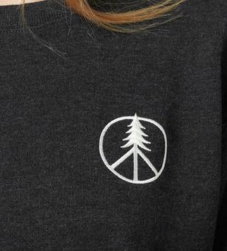 Tentree peace tree ls crew