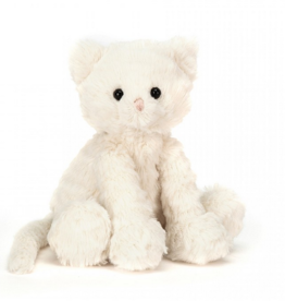 Jellycat fuddlewuddle kitty white