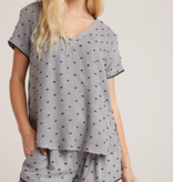 Bella Dahl sleep v tee and short set
