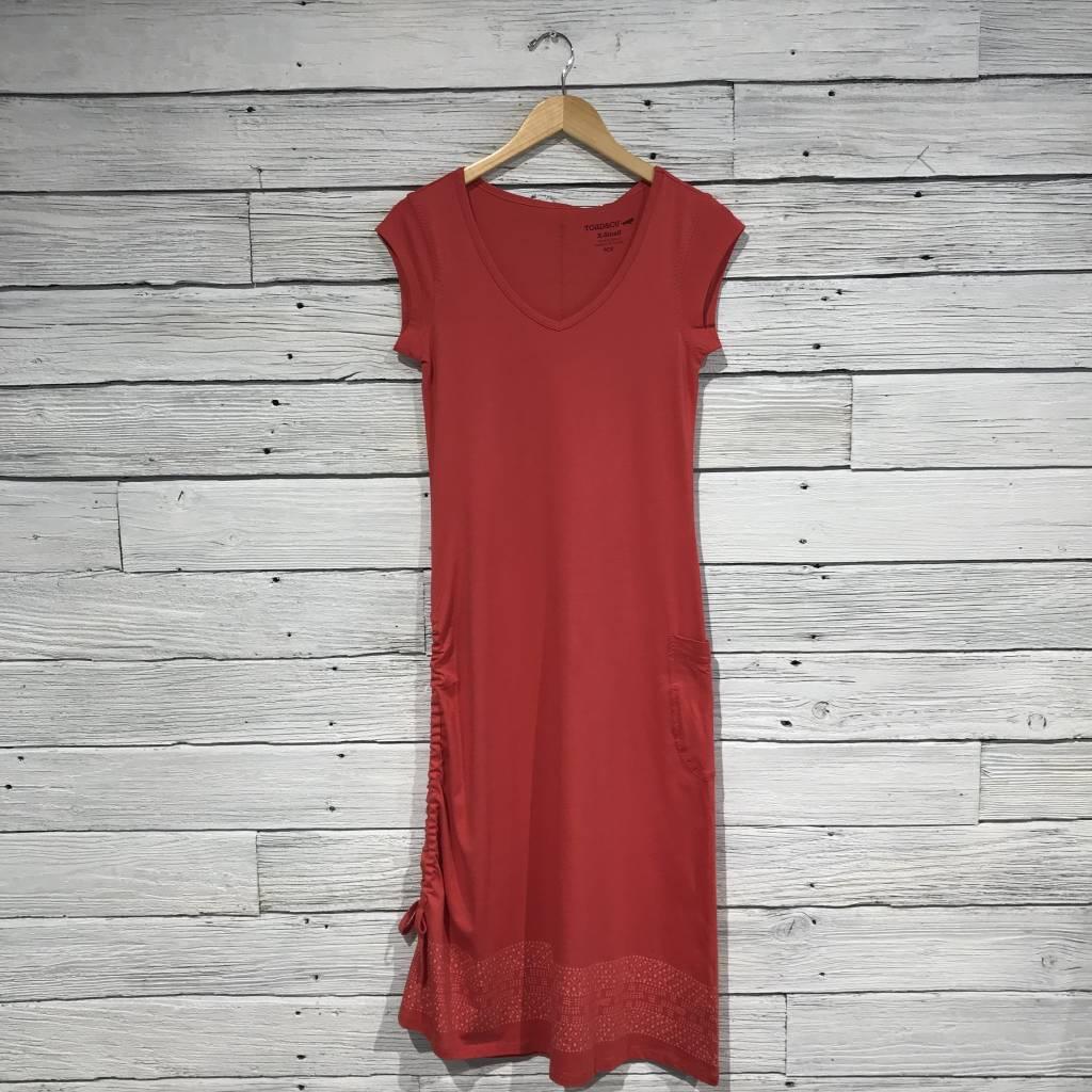 Toad   Co Muse Dress rhubarb border print - Blue e9c3cad23