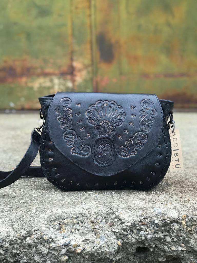 Anni Sui Bedstu bag Sabanna black charcoal  47f79b1faf949
