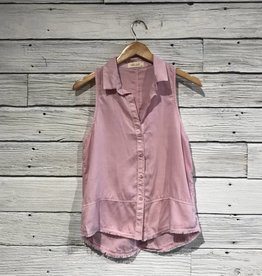 Bella Dahl Orchid Seamed Button Down