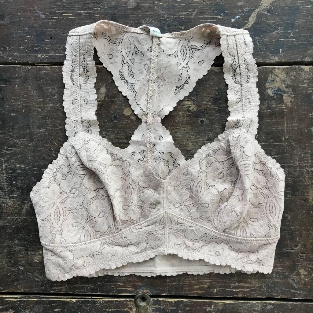 Free People Galloon lace bra