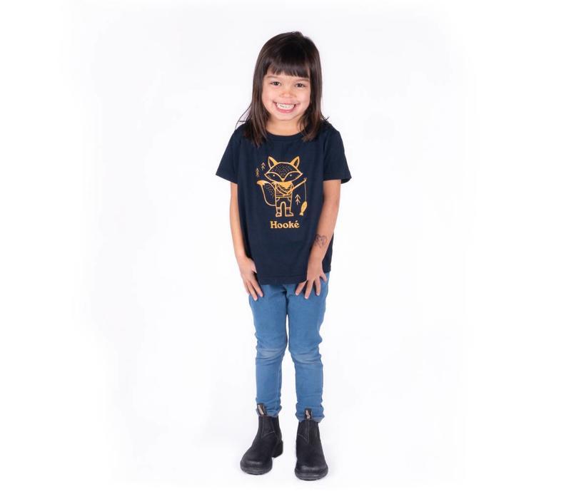Renard Pêcheur T-Shirt pour enfants
