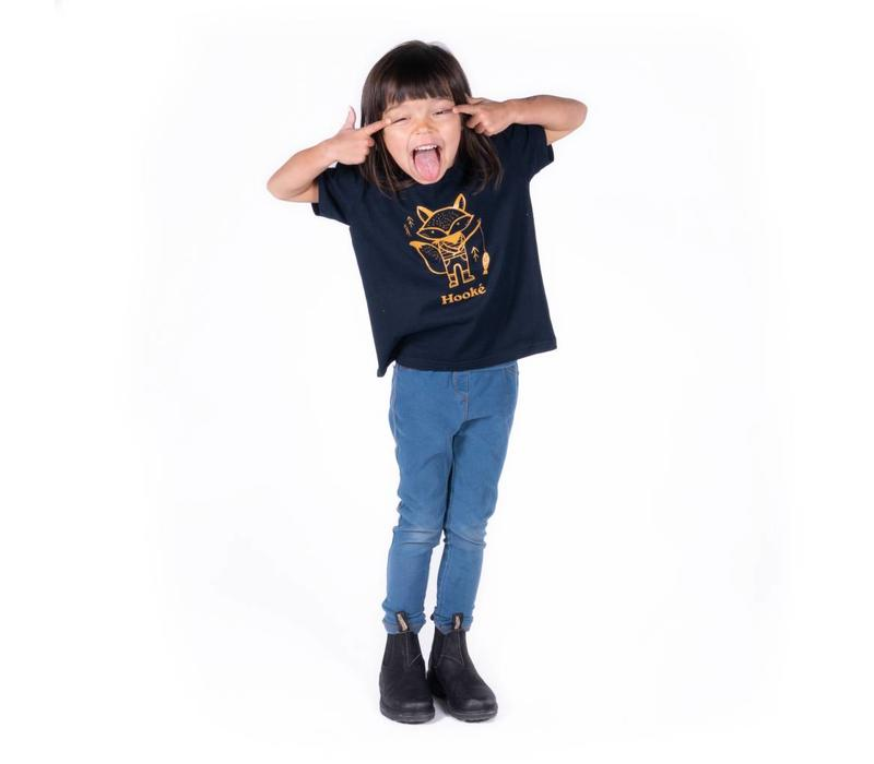 Fishing Fox T-Shirt for kids