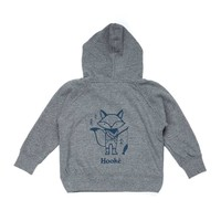 Fishing Fox Hoodie for kids