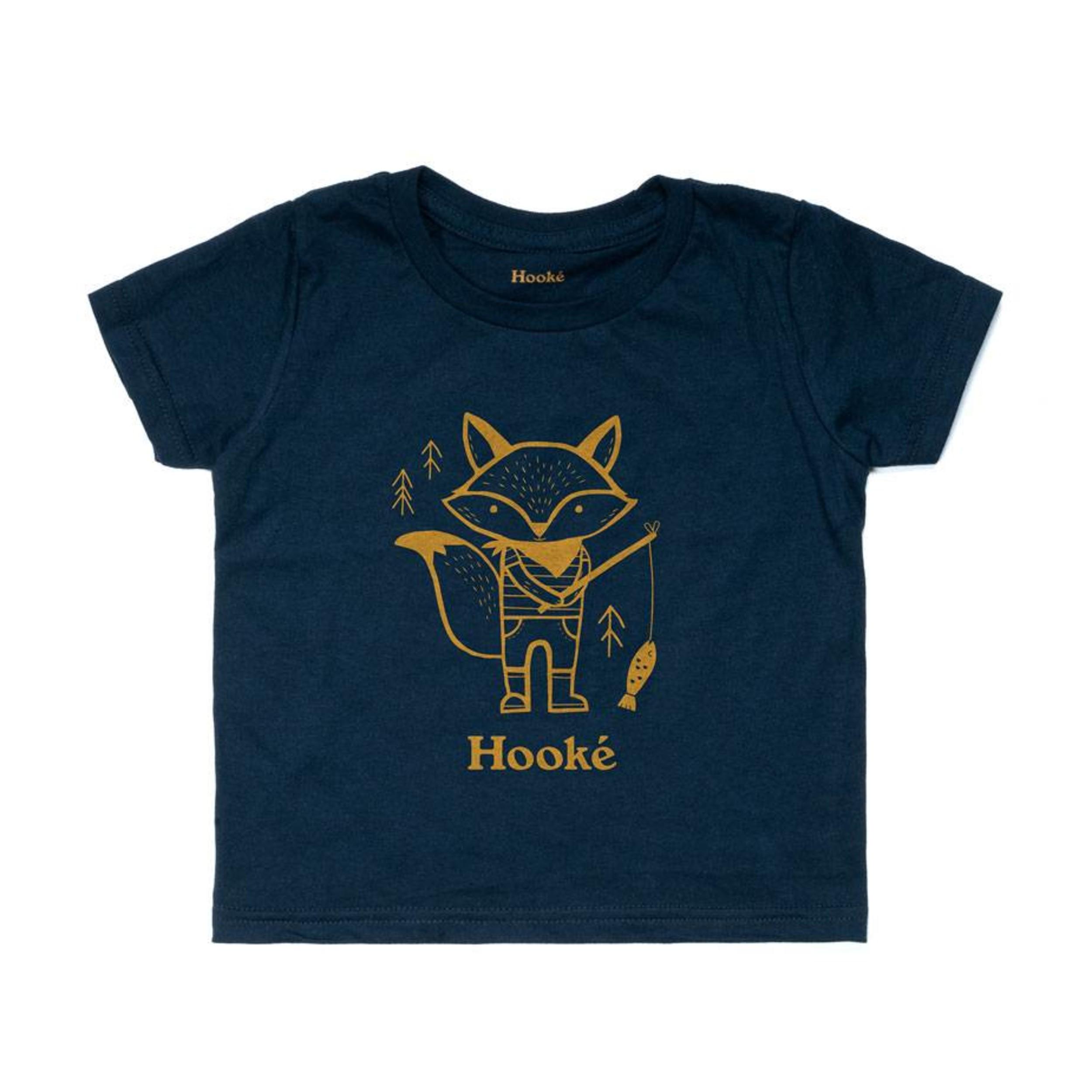 a3c2346db Fishing Fox T-Shirt - Kids | Hooké - Hooké