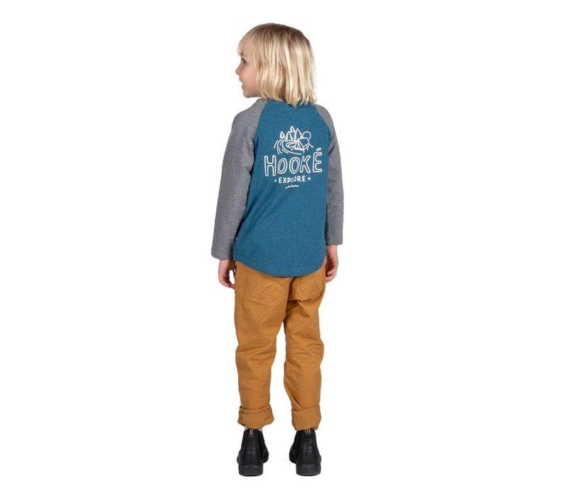 T-Shirt camping manches longues pour enfant