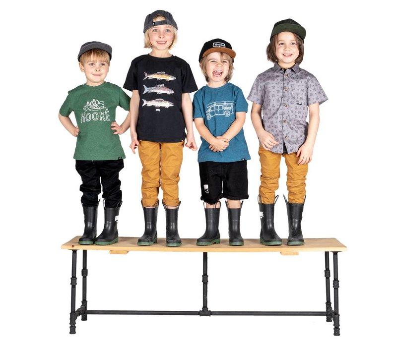 5 panel hat pour enfants