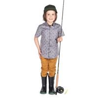 Pantalons jogger beige Hooké pour enfant