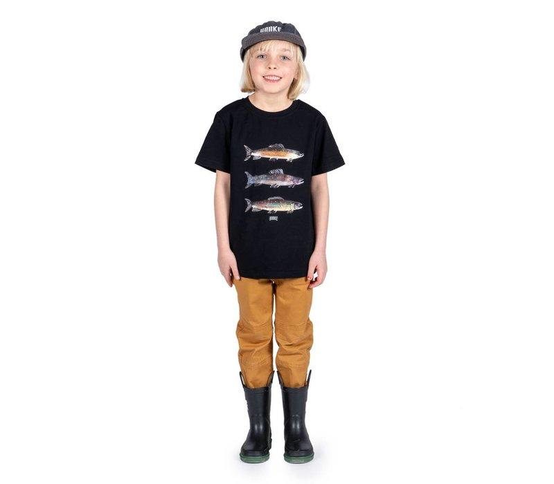 Pantalons jogger beige Hooké pour enfants