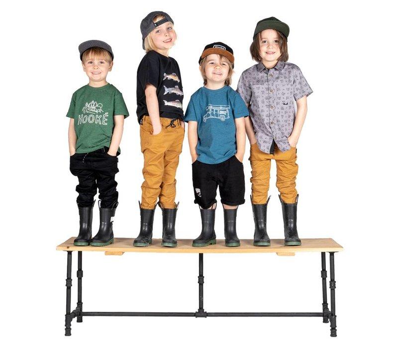 Original Hooké shorts for kids black