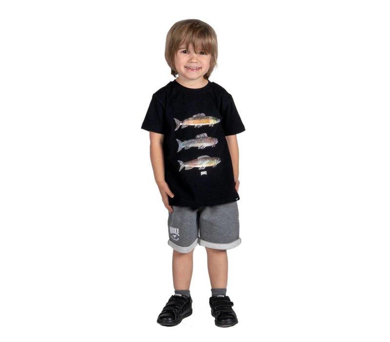 Short original gris pour enfants
