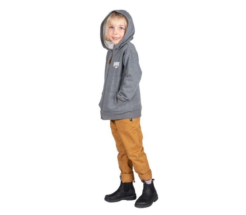 Original Hooké hoodie for kids grey