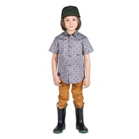Hooké shirt for kids grey
