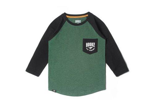 T-shirt Allons Pêcher manches longues raglan pour enfant