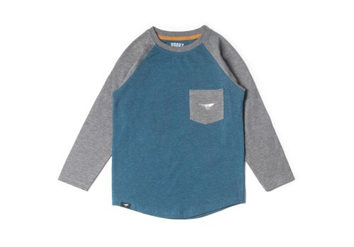 Long sleeve camping raglan t-shirt for kids