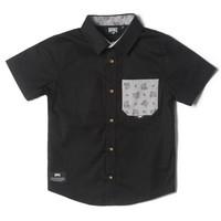 Chemise Hooké noire pour enfants