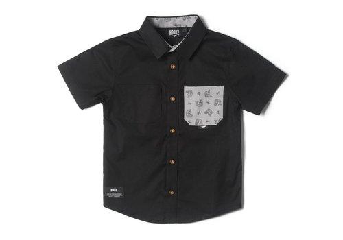 Chemise Hooké noire pour enfant