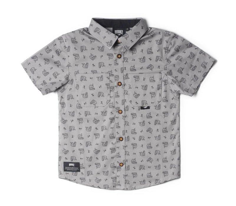 Chemise Hooké grise pour enfant