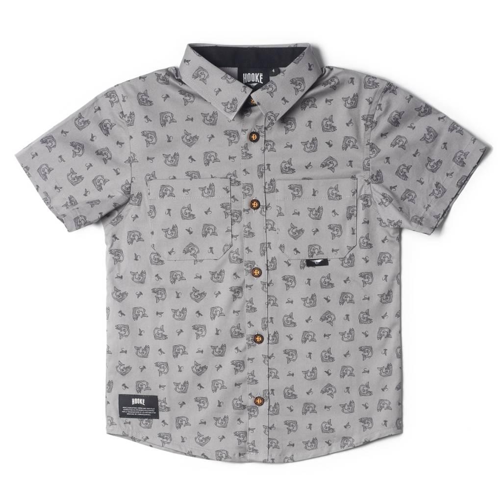 Hooké shirt for kids grey