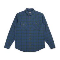 Skeena Shirt Blue & Green Plaid