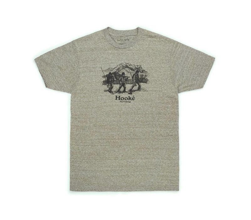 T-Shirt Big Mountain Neige Militaire