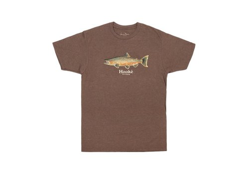T-Shirt Salmo Trutta Brun Chiné