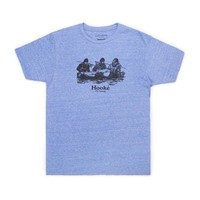 Double Header T-Shirt Royal Snow